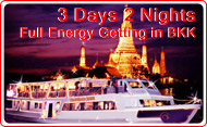 3Days 2Nights Full Energy Getting in Bangkok